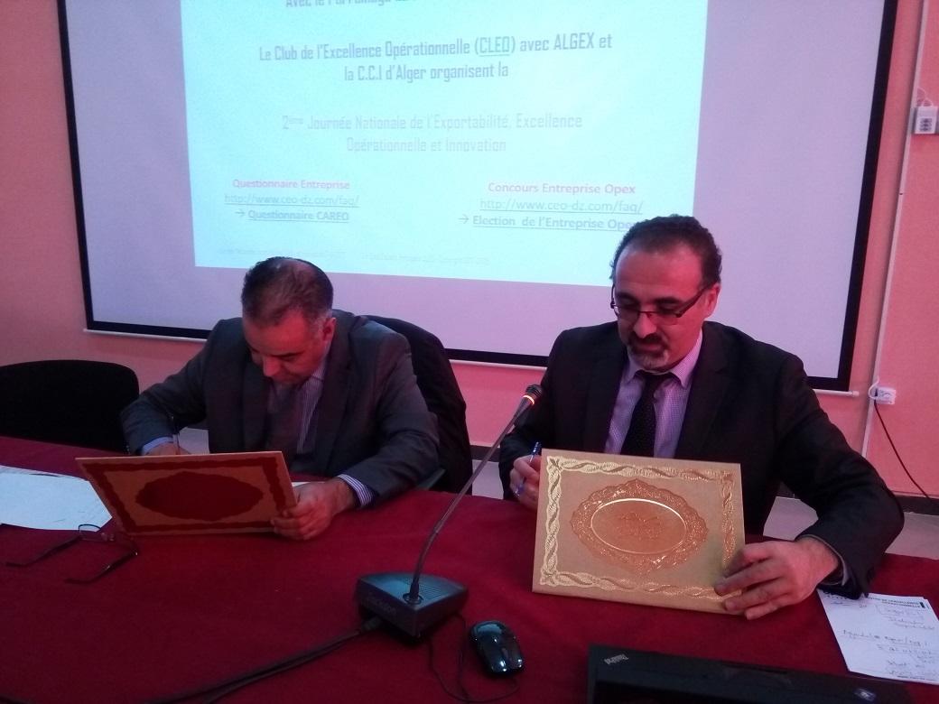 Signature de convention entre CLEO & CCI Tiaret